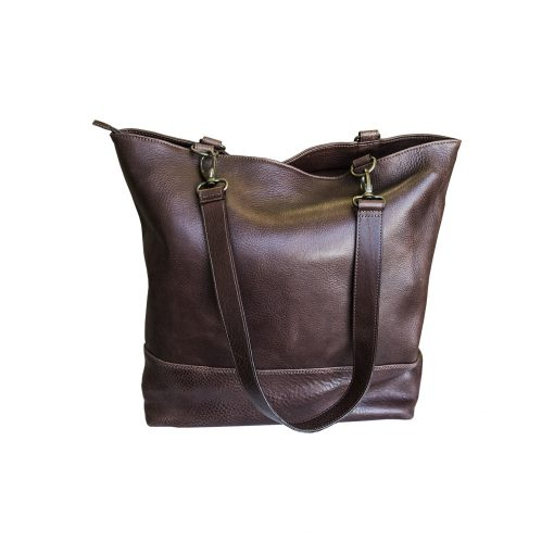 BORSA SHOPPER DONNA POP SHOPPING MARRONE