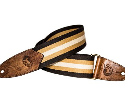 Cotton Guitar Strap Multistripes-made in italy