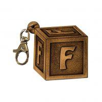 Portachiavi Lettera Alfabeto - F