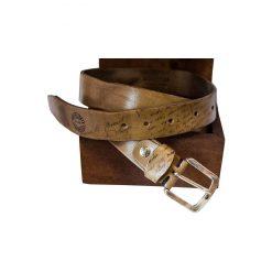 Cintura Pelle Conciata al Vegetale Artiglieria Fiorentina grigia