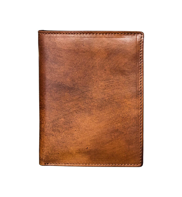 Portafoglio Porta Carte di Credito - 13,8x10,3 - Tamponato a mano