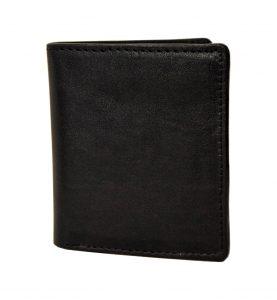 portafoglio piccolo verticale nero