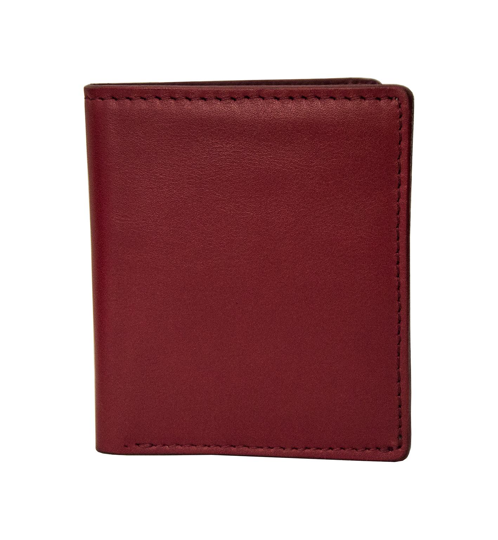 portafoglio piccolo verticale rosso