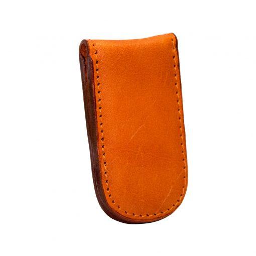 fermasoldi magnetico arancione