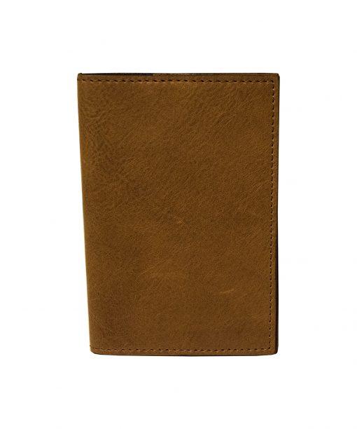 porta passaporto pelle marrone chiaro