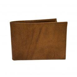 portafoglio con porta assegni pelle